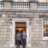 Visit to Dáil Éireann to present Young Scientist Project