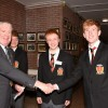 Visit of the Lord Mayor of Cork to Coláiste an Spioraid Naoimh.