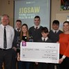 Cheque presentation to Jigsaw