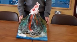 First Year – Volcano Competition!