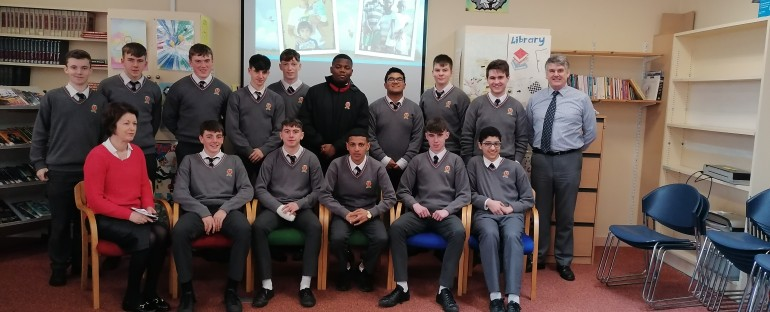 T.Y. Students learn about Trócaire
