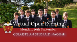 Virtual Open Evening for prospective Parents & Students 2022/2023