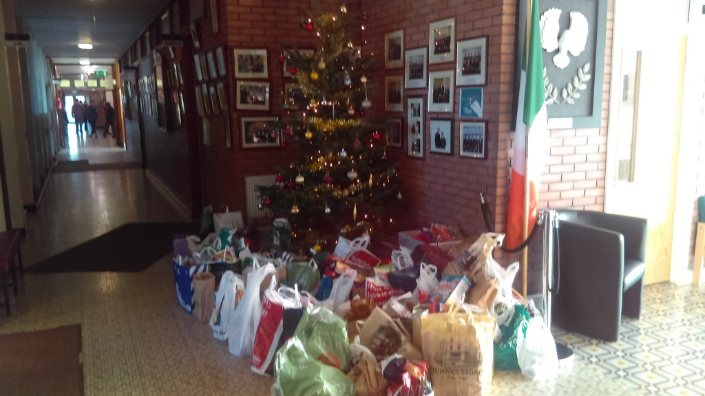 Launch of the Christmas Food Appeal in aid of S.V.P.