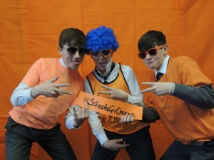 #SchoolsGoOrange - promoting Positive Mental Health