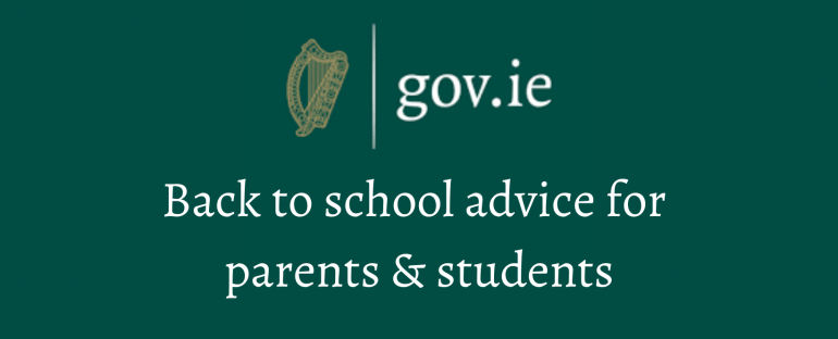 Back to school advice for post-primary parents & students