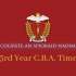 2nd & 3rd Year C.B.A. Timetables